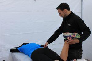 Massage au Demi Marathon de Granby