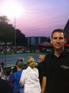 Benoît - Challenger de Tennis à Granby