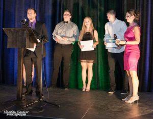 4-Gala Jeunes Entreprises. Prix Persévérance en équipe