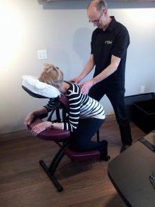 12-Ranville Massage sur Chaise O'kiné Massothérapie