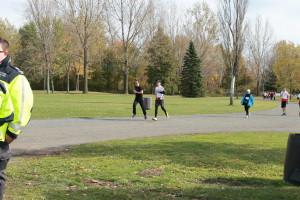 6. 6 heures courir en coeur. Benoit Racine et Samuel Dupuis