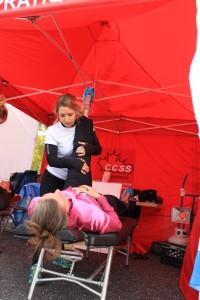 Chiropratie sportive. Demi marathon de Granby. chiropratie ProAction