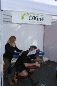 Massage Demi marathon de Granby