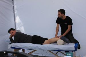 Massage sportif Demi marathon de Granby