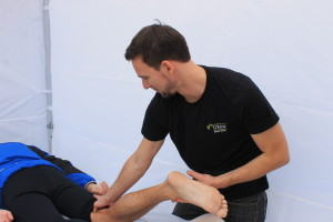 Massage sportif. O'Kiné massothérapie