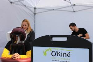 Massage sur Chaise Granby. demi marathon de Granby. O'Kiné massothérapie