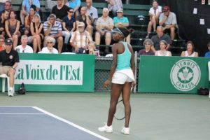 Francoise Abanda Challenger de tennis Granby
