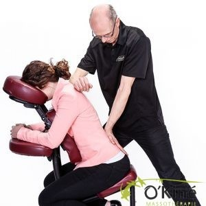 massage sur chaise