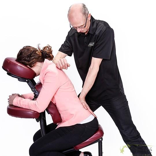 massage sur chaise